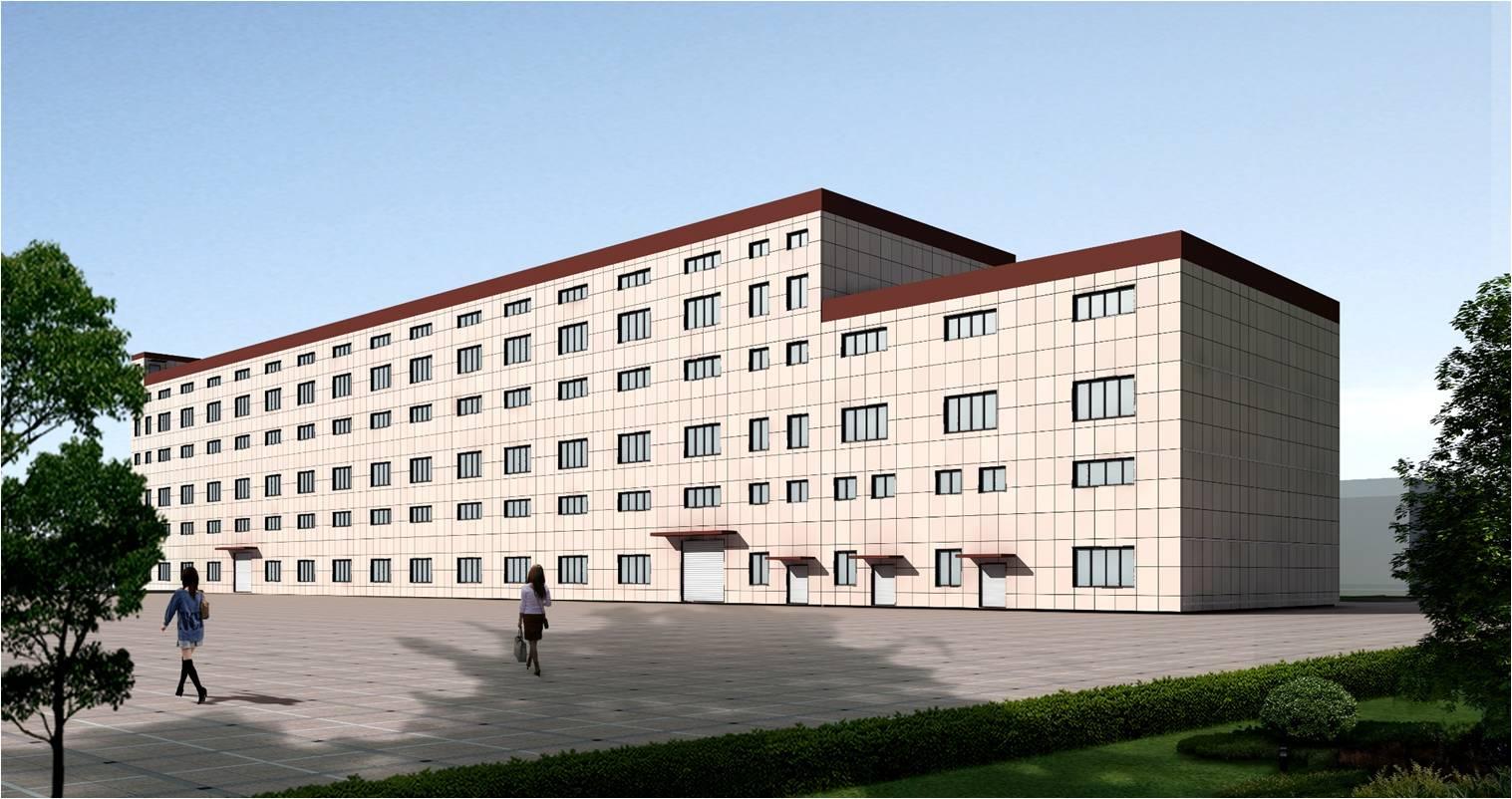 上海e世博app第二生产基地在安庆市高新区顺利举行开工庆典